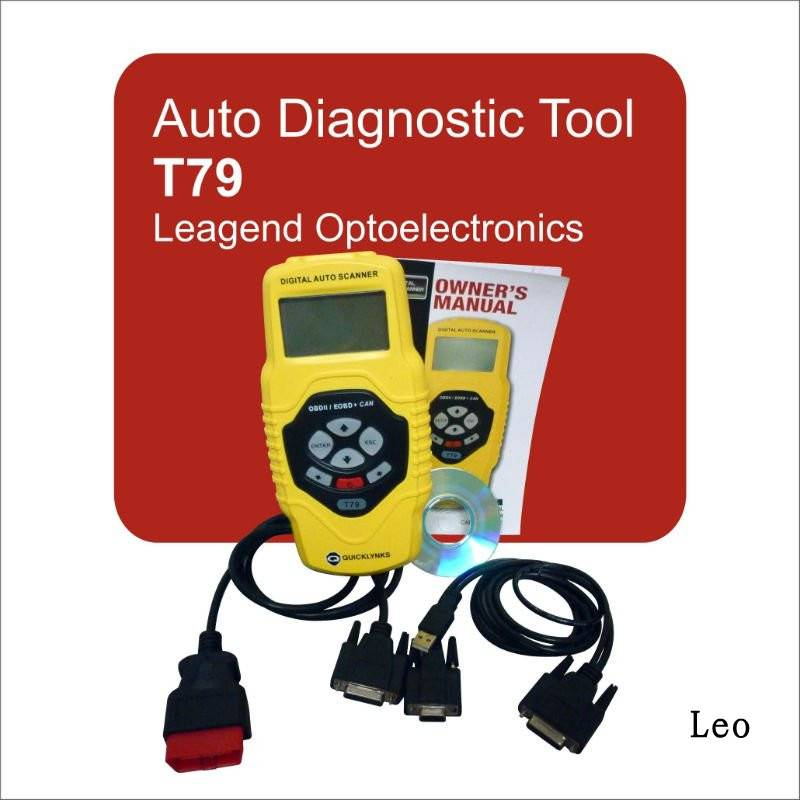 universal motor diagnostic scanner OBD2/EOBD diagnostic machine cars auto scanner T79,6 languages