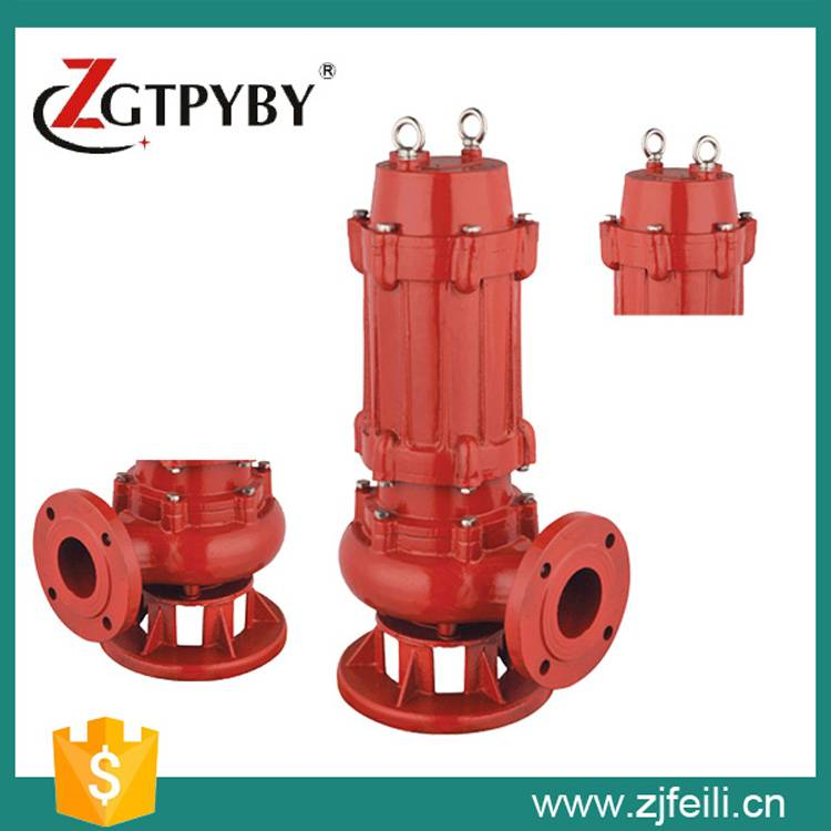 high pressure high-temperature submersible sewage pump for laundry