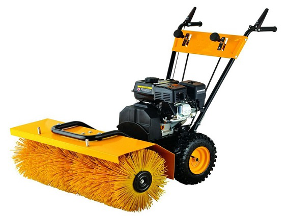 brushing machine for artificial grass installation