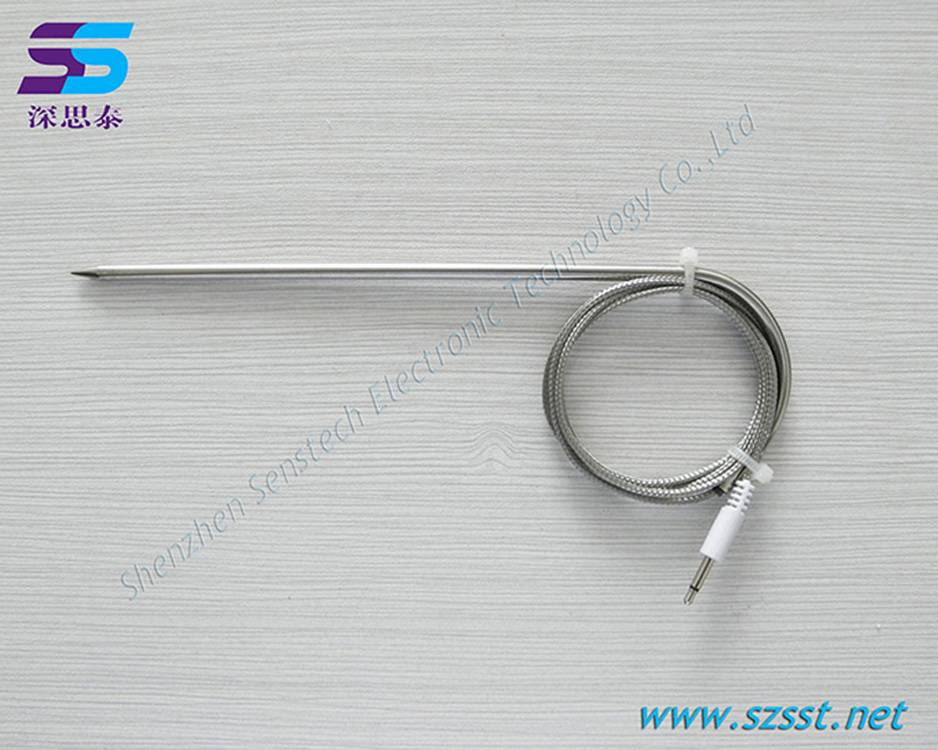 Kitchen thermometer probe stainless steel food-grade probe