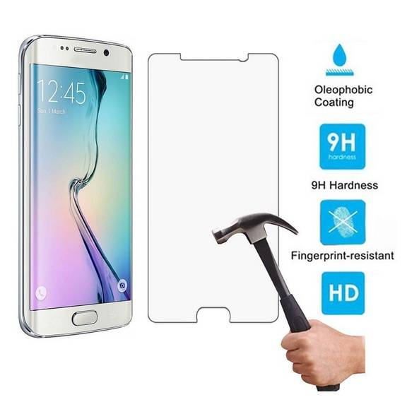3D full coverage 2.5D Curved edge 9H Hardness Anti-oil Premium samsung galaxy s6 screen protector te