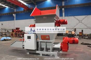 Expandable polystyrene compactor EPS cold compactor recycling machine foam recycling machine