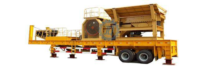 Mobile crusher station/ Crawler mobile crushing station/ Rubber-Tyred mobile crusher plant