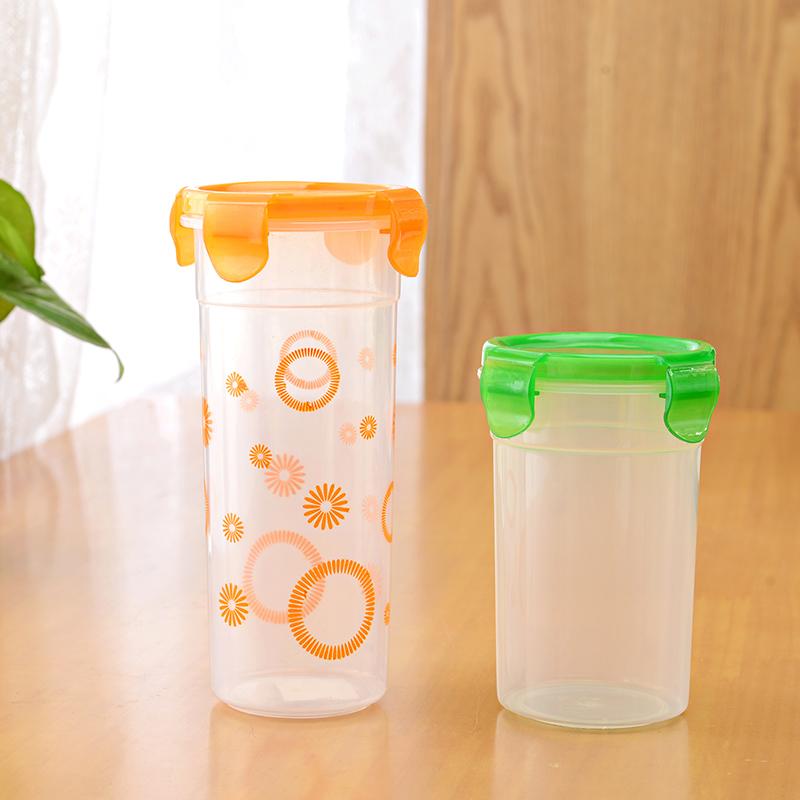 Food grade PP material plastic water bottel/lock cup