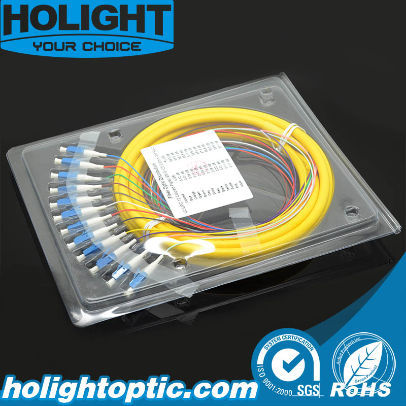 LC Single Mode Fiber Optic Pigtail
