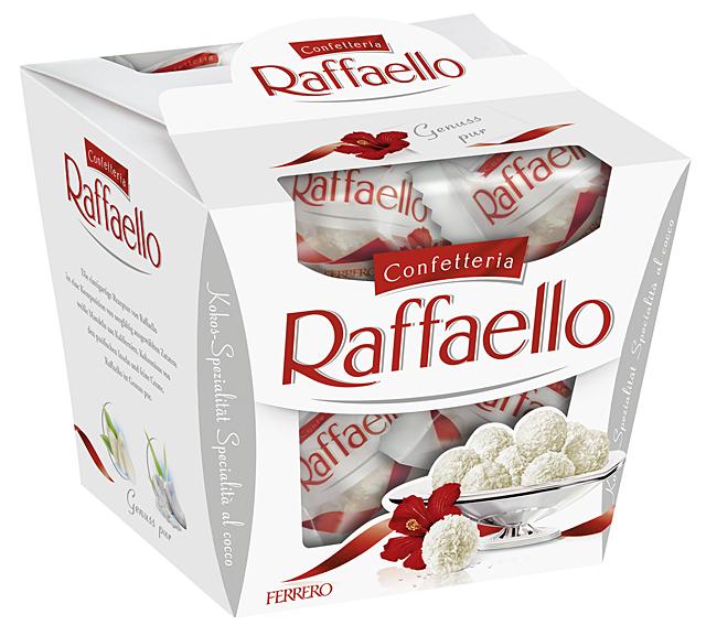 Ferrero Raffaello 150g, 230g
