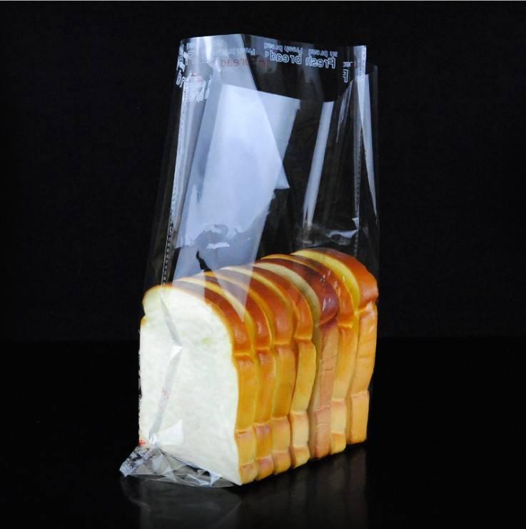 food grade opp bag for bread