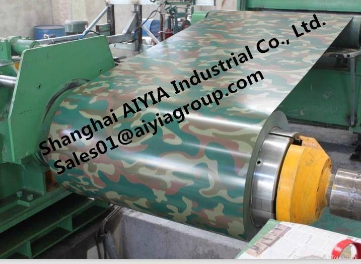 Camouflage color PPGI/PPGL/Pre-Painted Galvanized Steel/Color-Steel