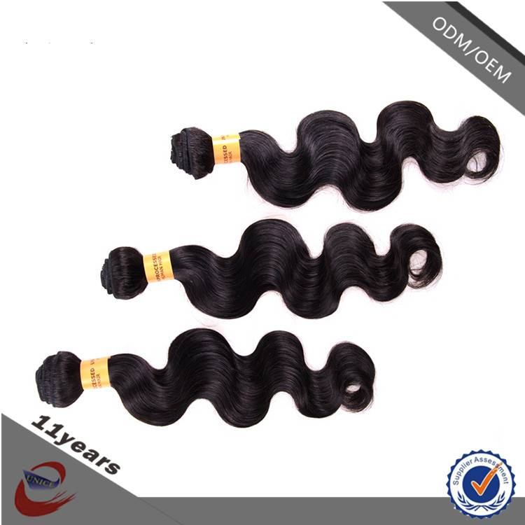 Hot Selling 10-30 Inch Human Hair with Double Weft Body Wave Wholesale Virgin Malaysian Hair