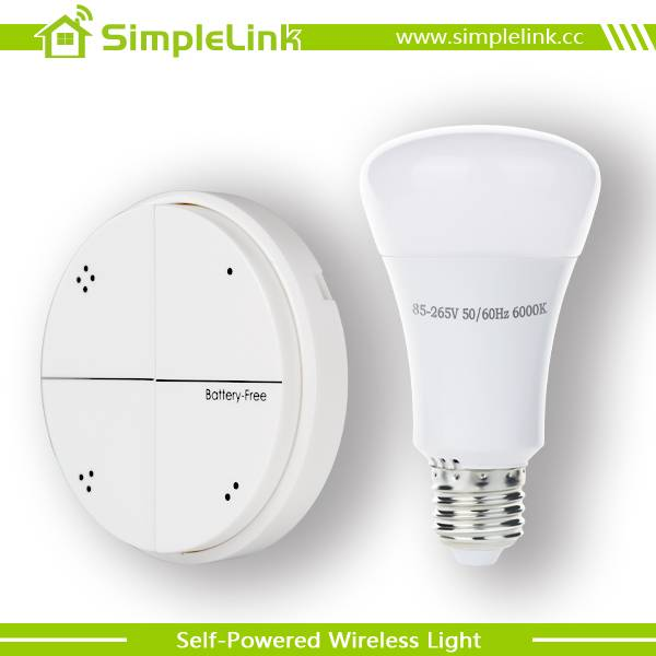 Energy Harvesting Technology Wireless Self-Powered Switch