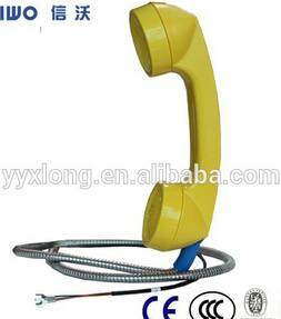 China waterproof public payphone handset hot in North and South America