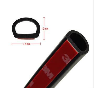 auto car door rubber seal/D P type auto door seal