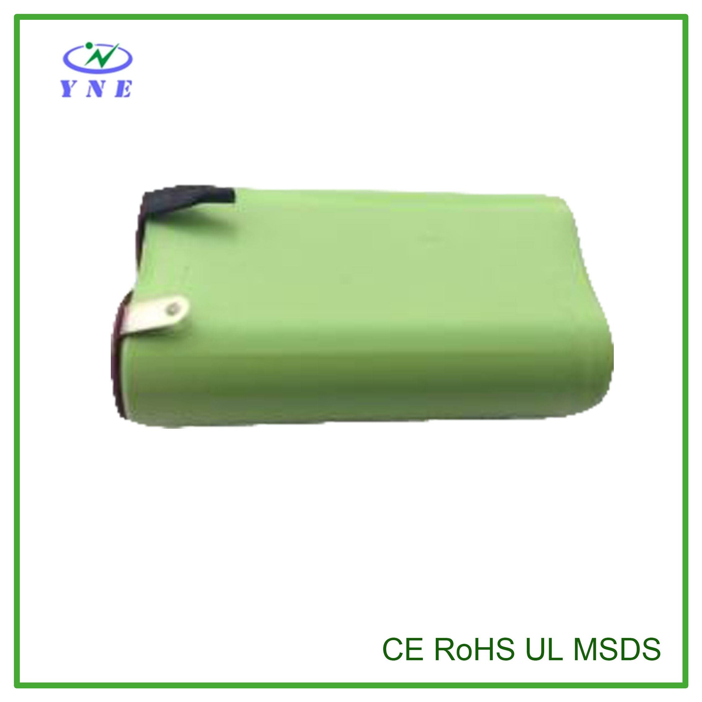 AA 2.4V 600mah Ni-MH Rechargeable Battery