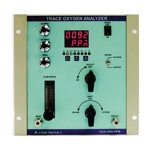 Trace Oxygen analyzers