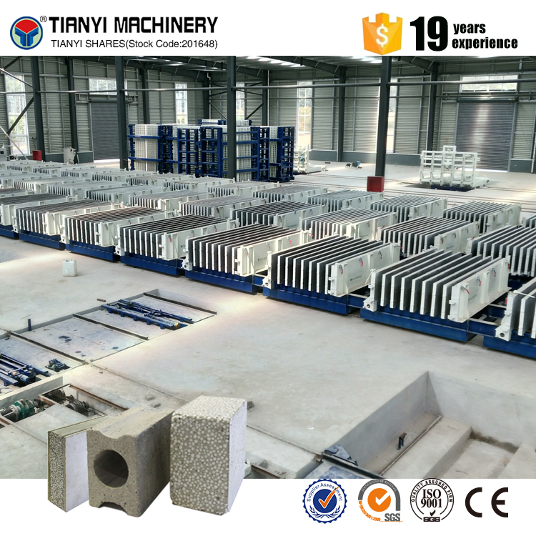 Best selling high efficiency Precast concrete compound wall panel making machinery
