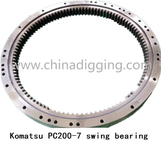 Komatsu pc200-7 swing bearing slew ring
