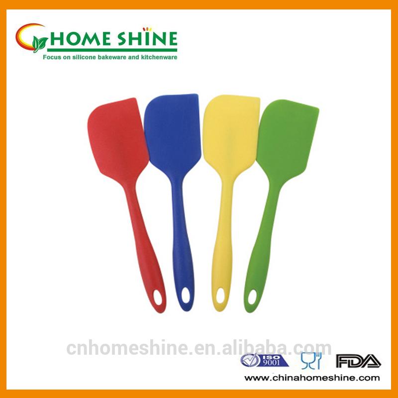 100% food grade cooking tools silicone spatula