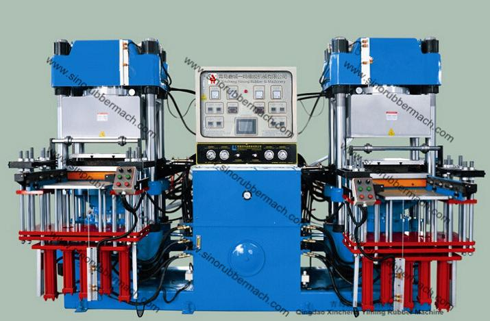 200T Vacuum Rubber Press, Silicon Rubber Vacuum Rubber Compression Molding Press Machine