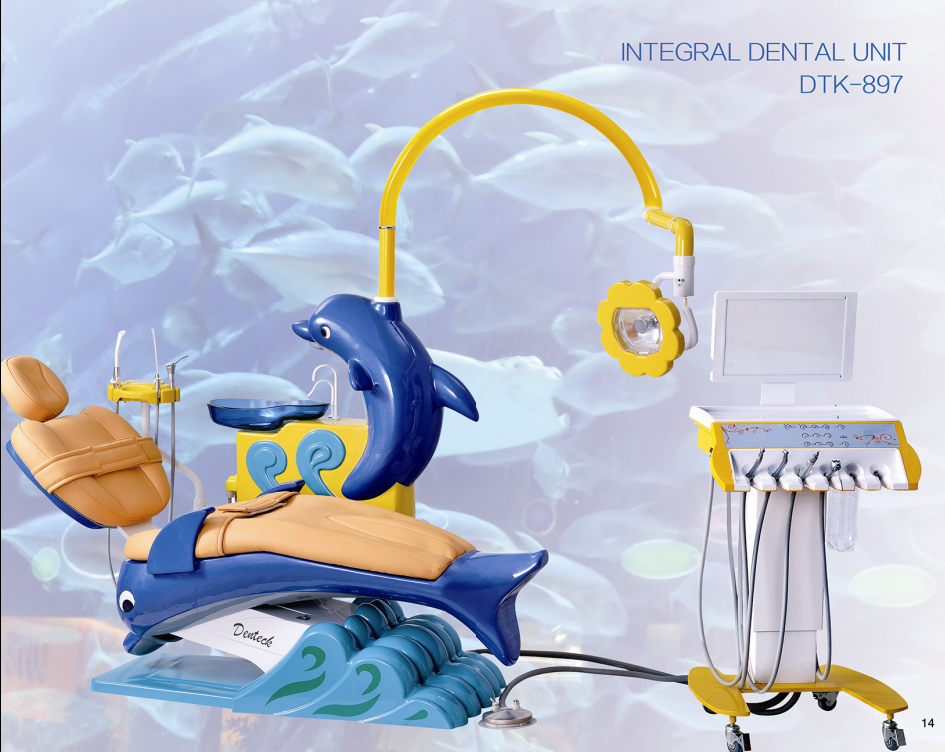 2017 new design dental unit chair for childhood