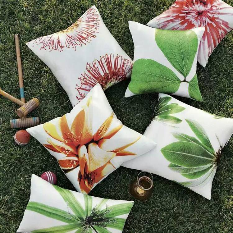 Home decorative cushion pillow cover for sofa bed
