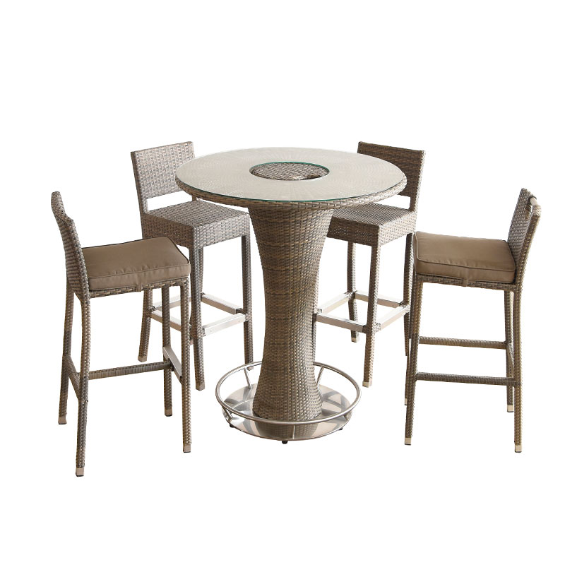 Hormel furniture high top 4 chair patio table and chairs