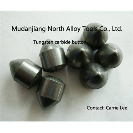 Tungsten carbide button tip