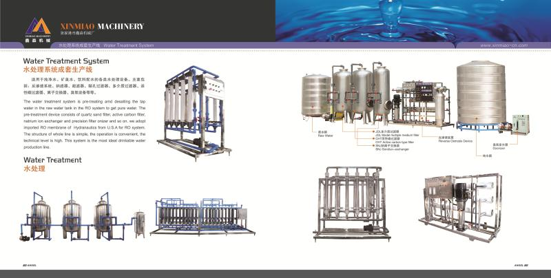 pure water, mineral water treatment