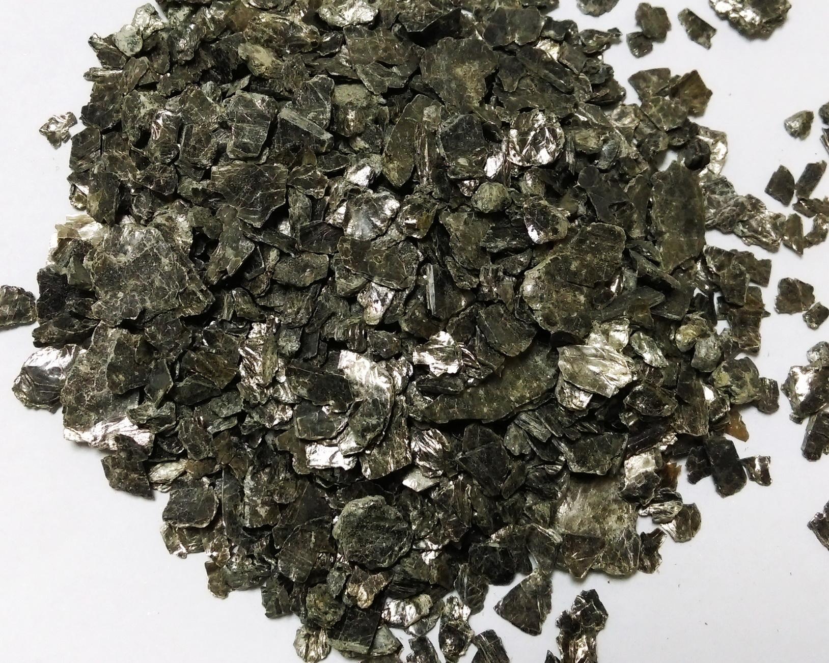 mica phlogopite concentrate ore, natural mica