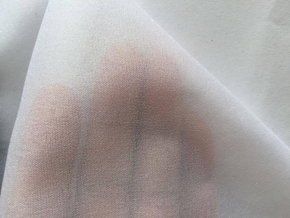 30D woven double dot fusible interlining