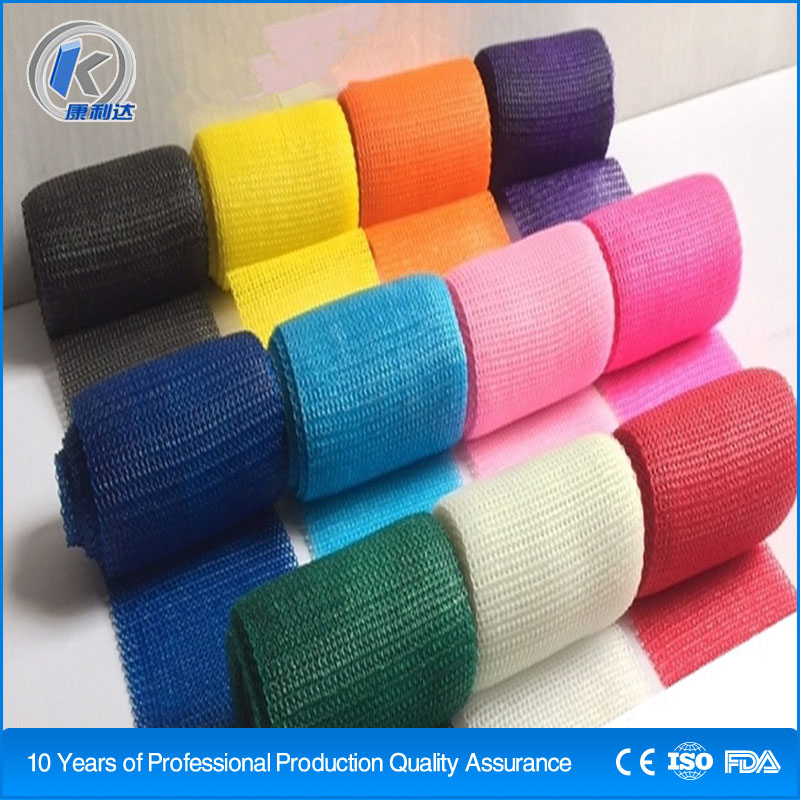 Medical Orthopedic Fiberglass Casting Tape Bandage