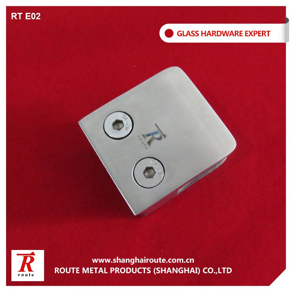 Mirror Surface Stainless steel 316 glass clamp
