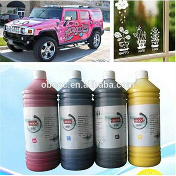 2015 Economic Water Based Eco Solvent Ink used for Vehicle Graphics Wrapping