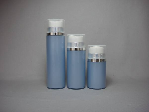 plastic lotion bottle, airless  pump