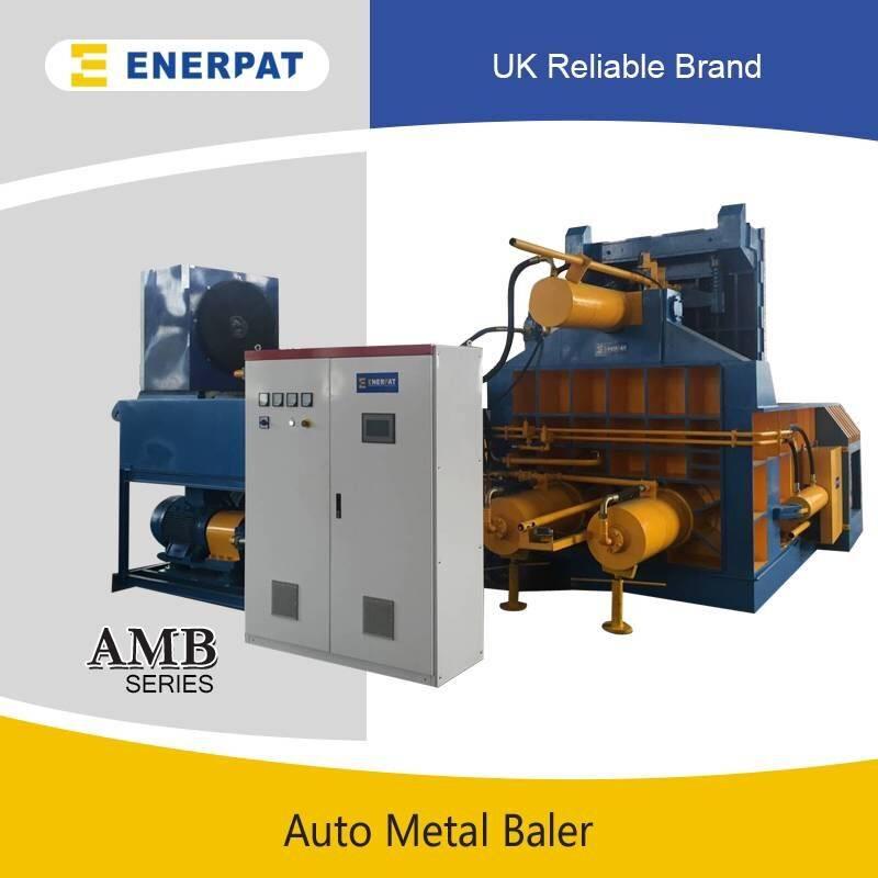 Automatic PLC Control Metal Scrap Recyling Pressing Compactor Baler Machine