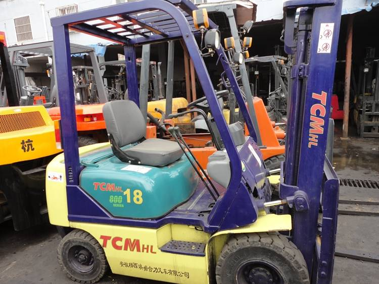 Used TCM Forklift FD-18 from Japan