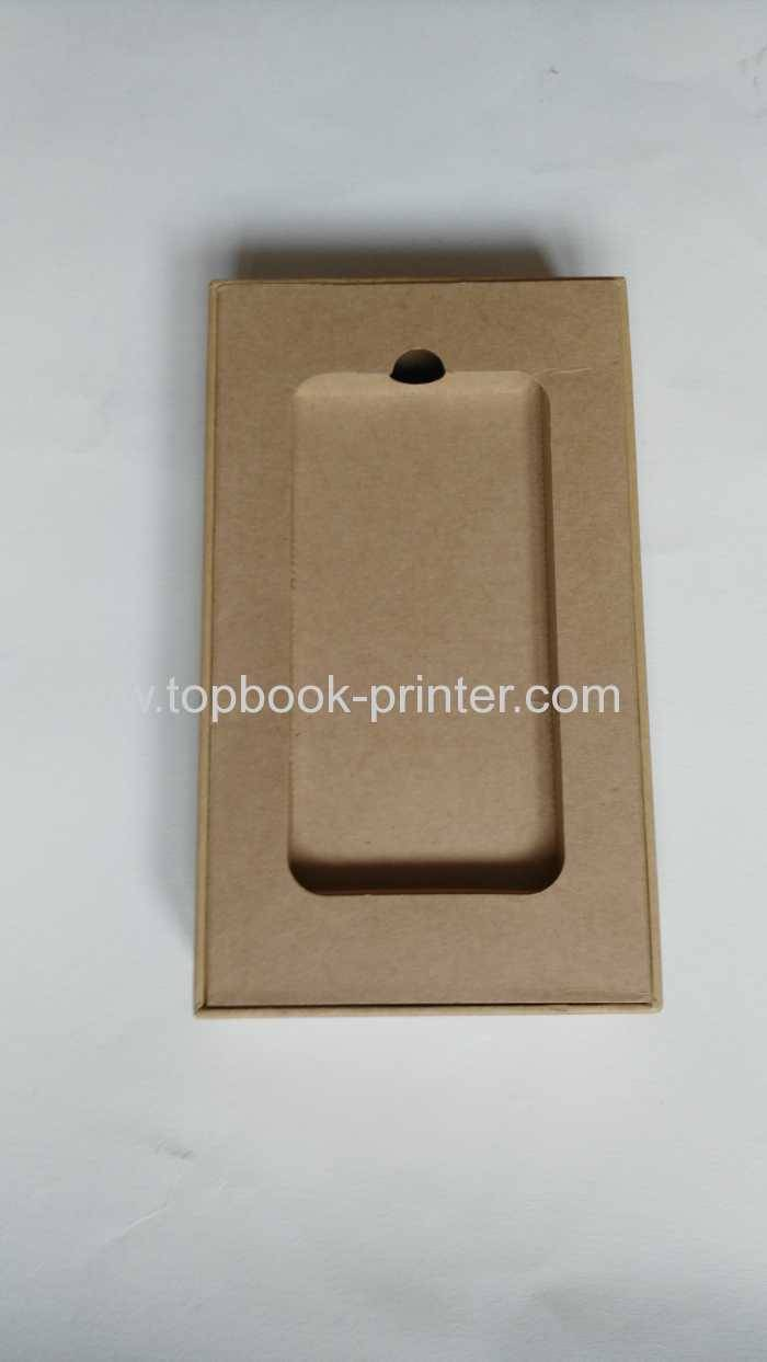 Glossy Lamination Cell Phone Packaging Boxes Printing With Grey Board
