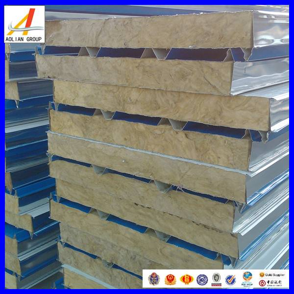 Fire Rated Rock Wool Sandwich Panel Supplier