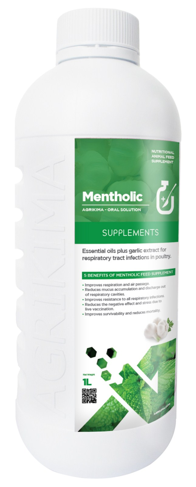 Mentholic-menthol-ecluptus oil-garlic extract