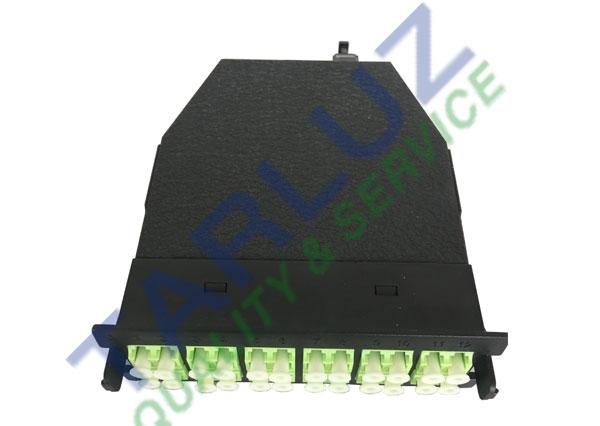 OM5 Fiber 24-core MPO-LC Module Cassettes