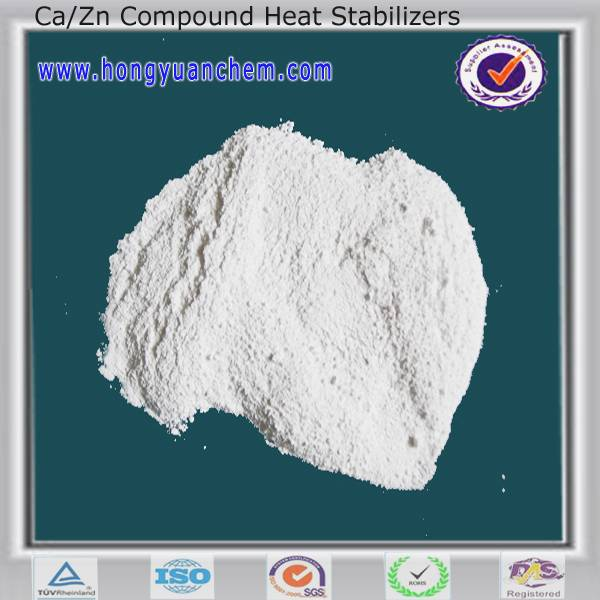 Ca/Zn Compound Heat Stabilizer Series for PVC  injection products