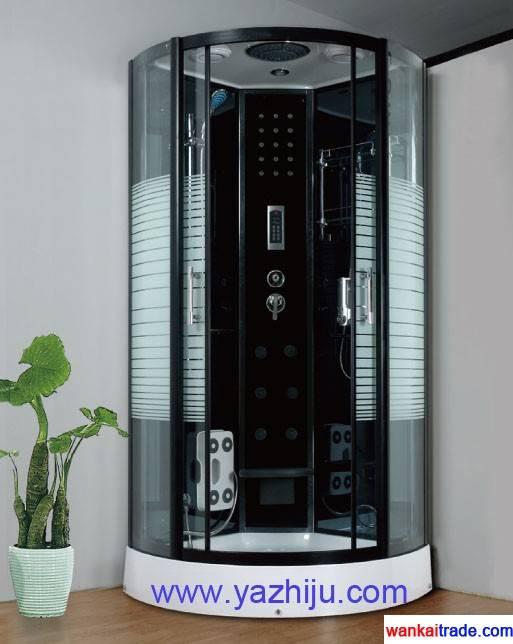 F3 steam engine system shower room with big top sprinkler