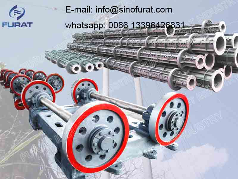 Circular Prestressed Concrete Electric Pole Mould