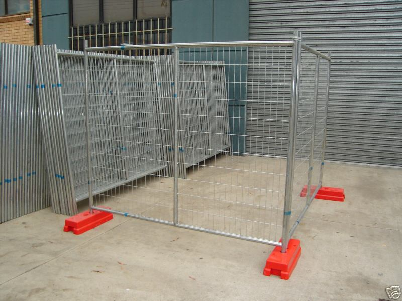 temporary fencing panels od 32 pipes x 2.00mm hot dipped galvanized temp site fencing panels contruc