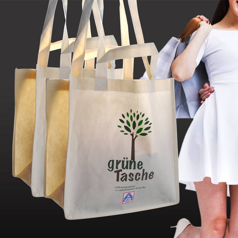 100% biodegradable and compostable non woven bag