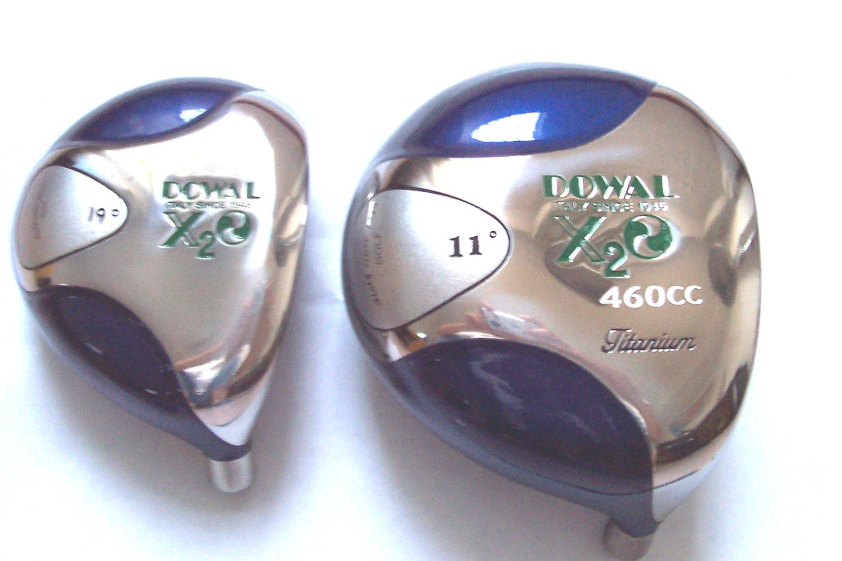 Dowal X2o Golf Club-steel. Carbon. Graphite Half Set