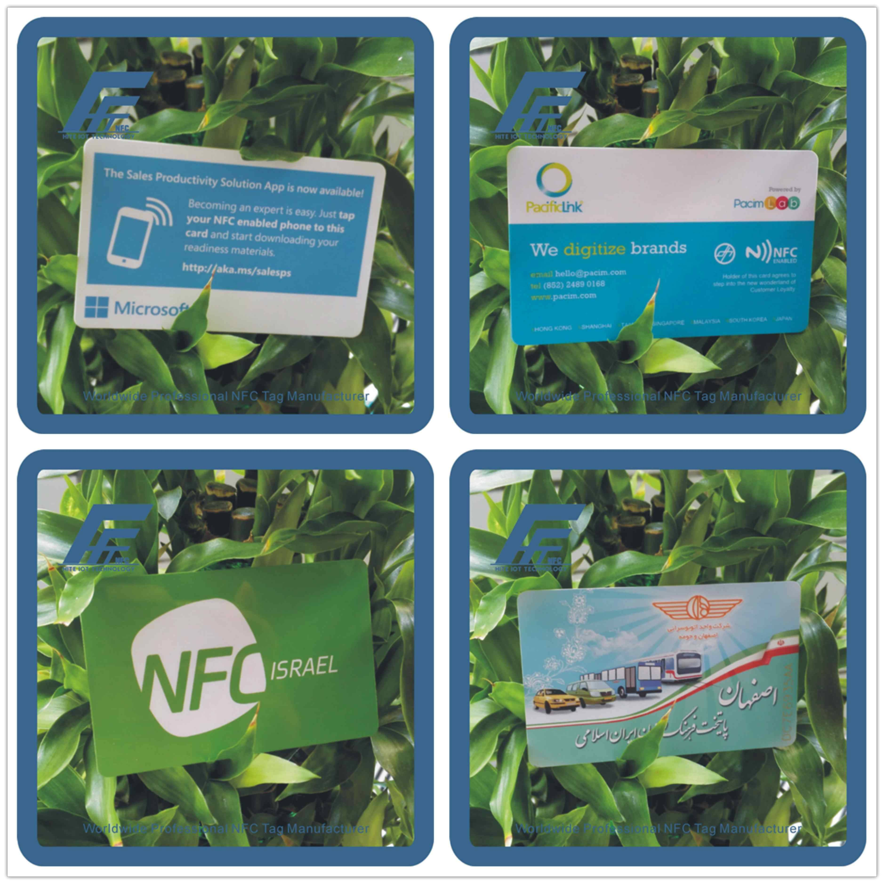 Customized NFC cards NFC smart cards