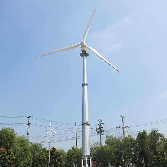 H21.0-100KW Wind Turbine Generator System PMG