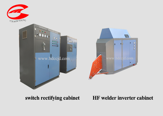 solid state hf welder for tube mill machine