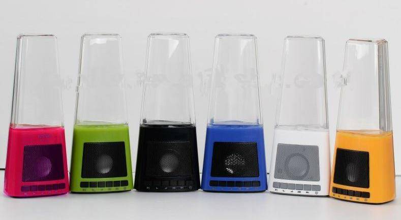 led water fountain speaker