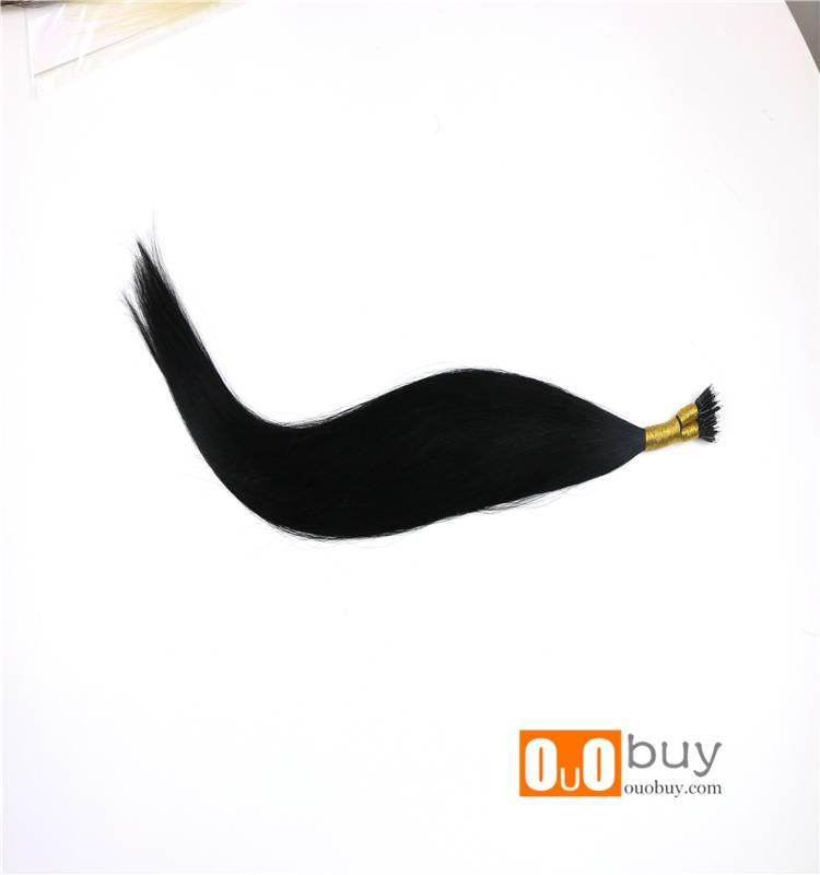 Remy Hair 100%Human Hair 100%Human Hair 9A Nano Ring Pre-Bonded Hair
